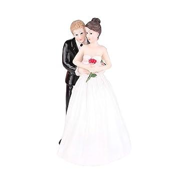 Masterein Hochzeitstorte Topper Lustig Romantik Brautigam Braut Rose