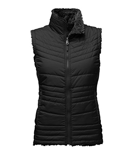 The North Face Women's Mossbud Swirl Vest - TNF Black - XL (Past Season) (Womens Face Black)