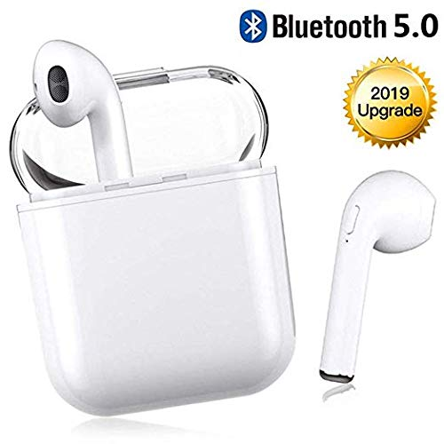 Bluetooth Headset Mini Sports Headphones, Wireless Earphones Noise Reduction 3D Surround Headphones for Smartphones and Bluetooth Devices
