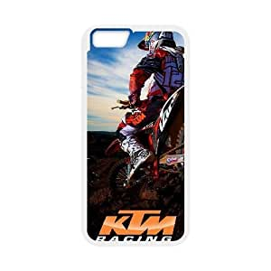 iphone6 plus 5.5 inch case(TPU), motocross Cell phone case White for iphone6 plus 5.5 inch - HHKL3331753