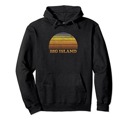 Unisex Big Island Hooded Sweatshirt Clothes Adult Teen Kids Hawaii Small (Island Kids Hoodie)