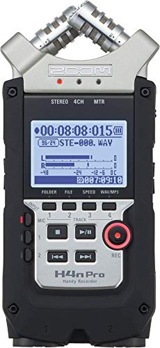 - Zoom H4N PRO Digital Multitrack Recorder (Renewed)
