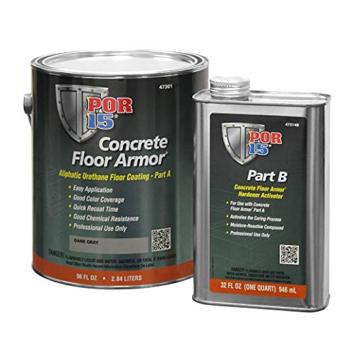 POR-15 47301 Dark Gray Floor Armor - 1 gal by POR-15 (Image #1)