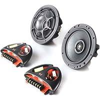 Integra Ovation XO 6 - Morel 2 Way 6 Coaxial Speakers