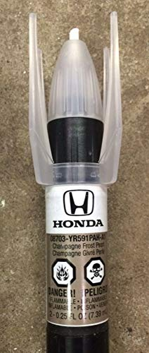 Honda Genuine 08703-YR591PAH-A1 Champagne Frost Pearl Touch-Up Paint Pen (.44 fl oz, Paint Code: ()