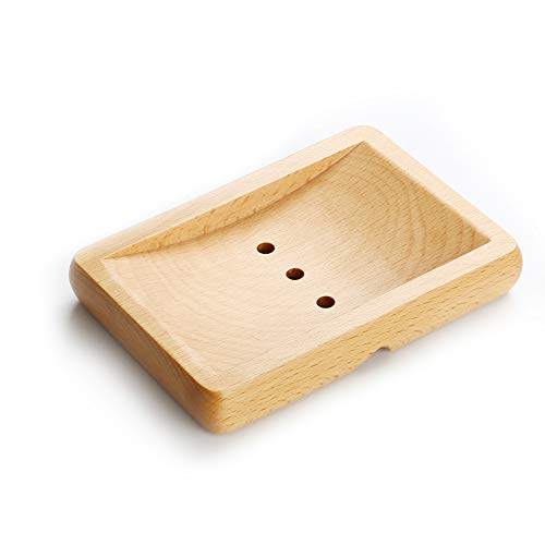 Wooden Soap Dish , Hand Soap Holder with Modern Design Rack