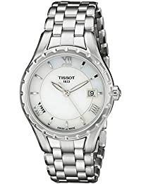 Womens TIST0722101111800 T Lady Analog Display Quartz Silver Watch
