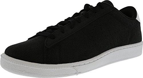 Nike Heren Tennis Klassiek Leer Mode Sneaker Zwart / Zwart-wit