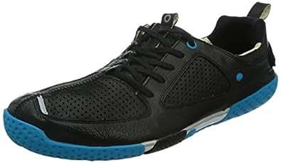 SKORA Men's Form Running Shoe,Black/White/Blue,8 M US