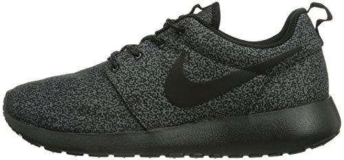 Nike Roshe Run Damen Schwarz Grau