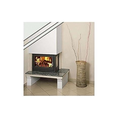 Combustión de madera chimenea Insertar Prity, Modelo o ...