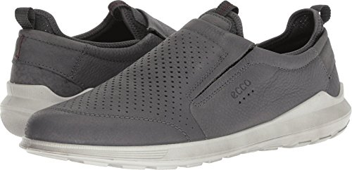 ECCO Men's Transit Slip on Sneaker, Dark Shadow Ii, 42 M EU (8-8.5 US) -