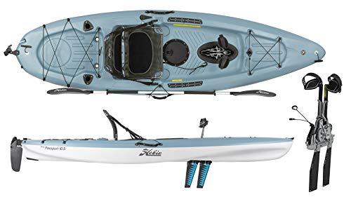 Hobie 2019 Mirage Passport 10.5 - Pedal Fishing Kayak (Slate) (Hobie Fishing Kayak)