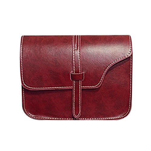 sac à main mini asymétrie de femme rétro à Rouge carré téléphone sac portable Porte petit monnaie Messenger mioim encens sac bandoulière sac 7qP0ww8