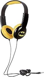 Batman Hp2-03082 Kids Safe Headphones