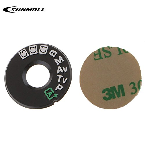 SUNMALL Interface Cap Button Replacement Part for Canon 7D mrak ii,Dial Mode Plate for Canon EOS 7D Mark 2, DSLR Digital Camera Repair Accessories for Canon EOS mk ii(6 Months Warranty)