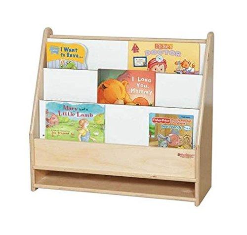 (Wood Designs WD35100 Toddler Bookshelf)