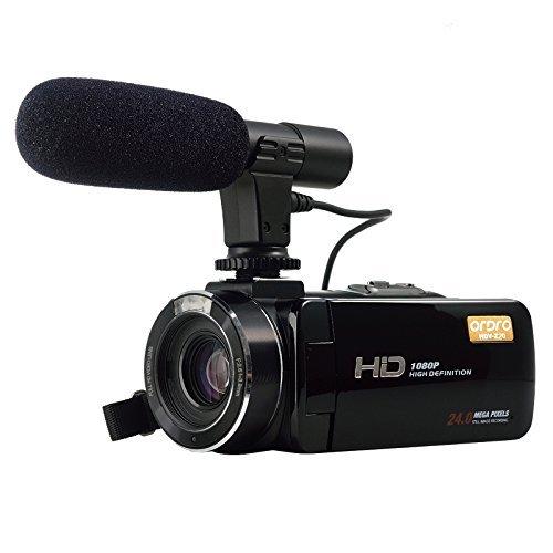 sony handycam external microphone