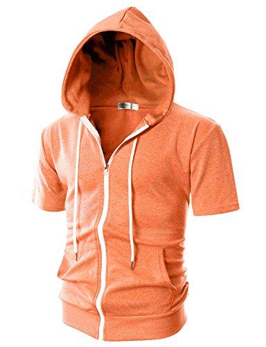 Ohoo Sleeve Lightweight Zip up Hoodie product image