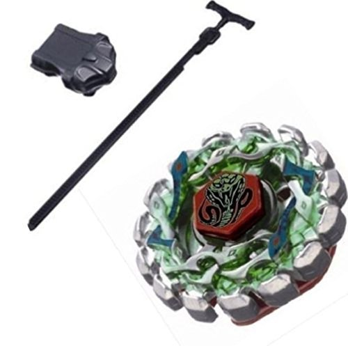 Cheap Perseus Costume (Beyblade Poison Serpent SW145SD Metal Fusion STARTER SET w/ Launcher & Ripcord + fabric bag Beyblade put*)