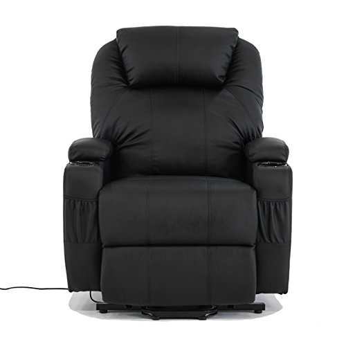 Electric Real Leather Recliner Armchair Lift Chair Wall