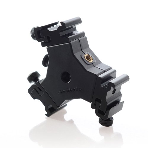 Westcott 2223  Triple Threat Shoe Mount Adapter (Black)