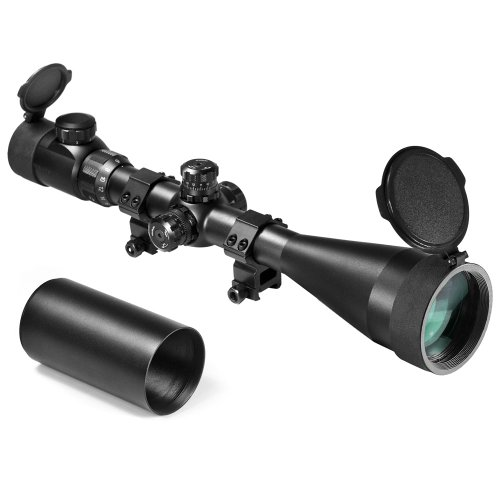 BARSKA 6-24x60 IR SWAT Extreme Tactical 30mm Riflescope (Black Matte)