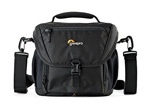 Lowepro Nova 170 AW. DSLR Shoulder Camera Bag for Pro DSLR with Attached 24-105mm Compact Photo Drone. by Lowepro