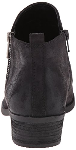 Santana by Carlos Bootie Ankle Brie Black Women's Carlos 4ROxOAwqE