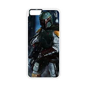 iphone6 4.7 inch Phone Case White Boba Fett UKT8546294