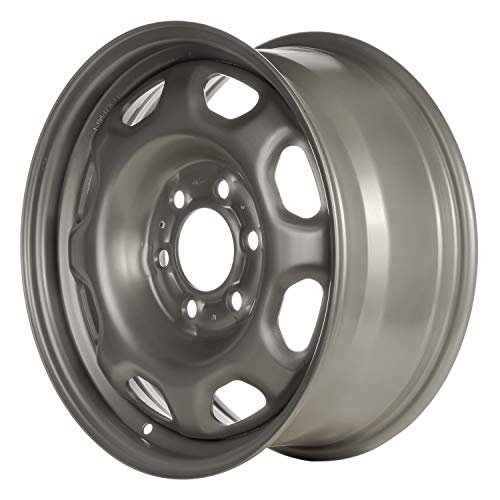 Multiple Manufactures STL03996U20 Silver Wheel with Painted and Meets All Federal Motor Safety Standards (17 x 7.5 inches /6 x 135 mm, 44 mm Offset)