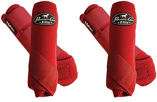 Professional's Choice ♦ VENTECH Elite Equine Sports Medicine Boots Set of 4 Colors (Crimson Red, Medium) by Professional's Choice (Image #7)
