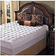Grande Hotel Collection 4.5 Inch Memory Foam and Fiber Mattress Topper, Size King by Grande Hotel Collection