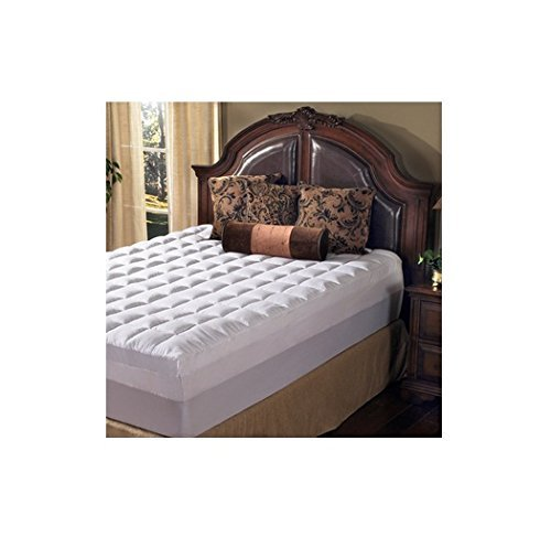 Grande Hotel Collection 4.5 Inch Memory Foam and Fiber Mattress Topper, Size King - Grande Hotel Collection
