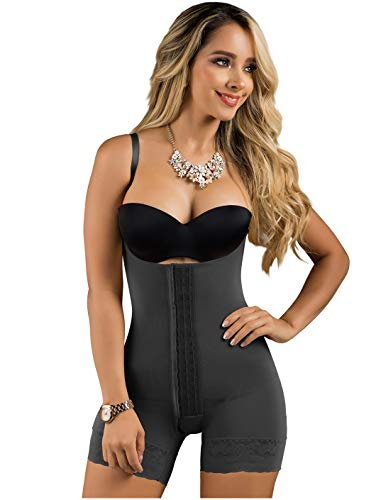LT.Rose 21113 BBL Lipo Compression Garment After Surgery Stage 2 Butt Lifter Shapewear Fajas Reductoras y Moldeadoras Colombianas Levanta Pompis Black M
