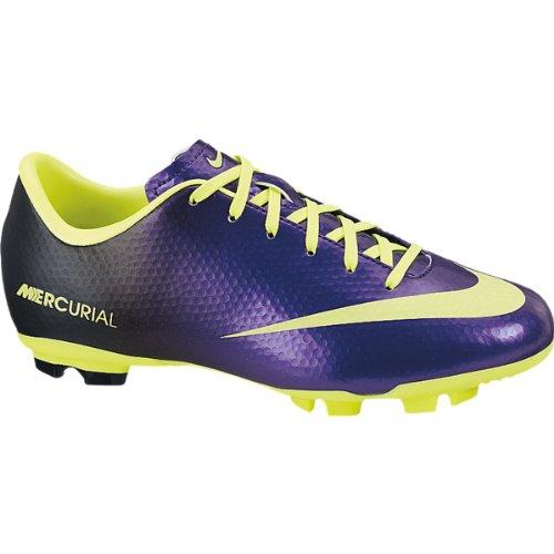 Nike Mercurial Vapor Iii Fg - New Nike JR Mercurial Victory IV FG Purple/Volt Boys 3