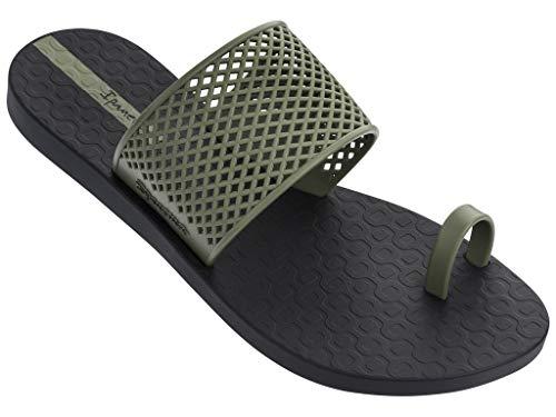 Ipanema Gadot Women's Sandals, Black/Green (7 US)]()