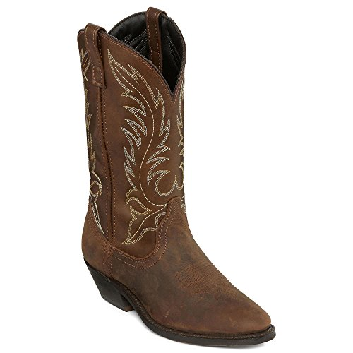 Dip Western Boots - Laredo Women's Western Distressed Brown Boot (6)