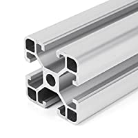 Farwind 4040 T Slot Aluminum Profiles Extrusion Frame 500mm Length For CNC DIY 3D Printers Furniture Stands by Farwind