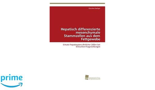Amazon.com: Hepatisch differenzierte mesenchymale Stammzellen aus ...