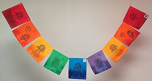 Virgen de Guadalupe Prayer Flag. All proceeds to families in Mexico. Free domestic shipping.