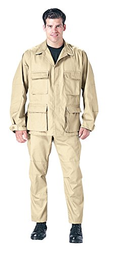 Rothco BDU Shirt, Khaki, 2X-Large ()