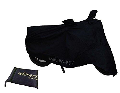 Mototrance Black Bike Body Cover For Bajaj Avenger 220 Street