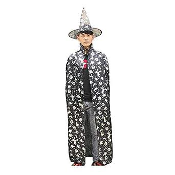 LBHHH Capa de Halloween, Capa de Disfraces para Hombres y Mujeres ...