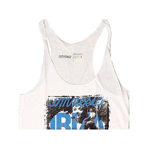 Amnesia Ibiza: Camiseta sin mangas Style Blanco