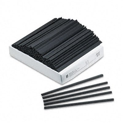 (C-Line Slide N Grip Binding Bars, Black, 11 x 1/4, 100/Box)