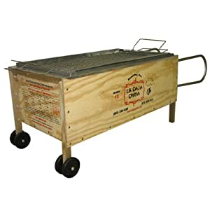 La Caja China #2 100 Lbs with Free Meat Thermometer and Syringe