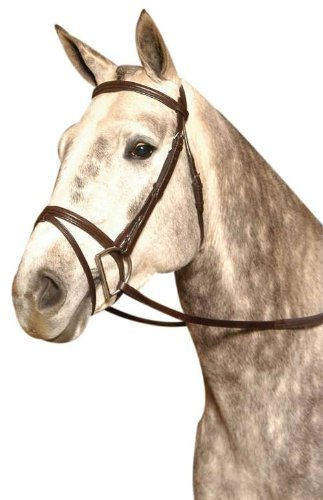 - Kincade Lined Event Full Bridle, Brown