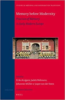 Book Memory before Modernity (Studies in Medieval and Reformation Traditions)