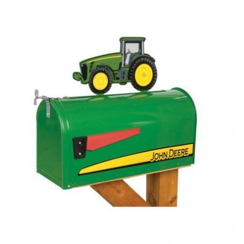 All States Ag Tractor Mailbox with Topper - John Deere 80...